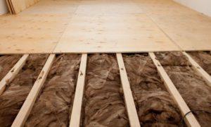 Утеплитель для пола в деревянном доме-2