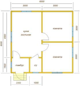 Проекты деревянных домов и коттеджей из клееного бруса