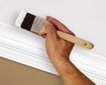 Как обработать потолок перед побелкой