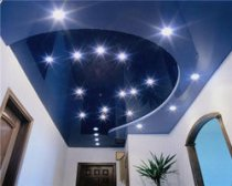 Features of the choice of stretch ceilings