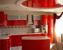 Потолок на кухне: каким он должен быть
