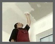 Ремонт потолка после подтопления
