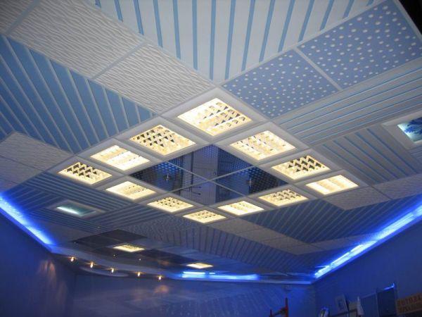 Характеристика подвесных потолков