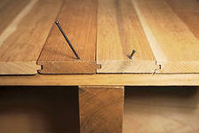 Как устранить скрип деревянных полов
