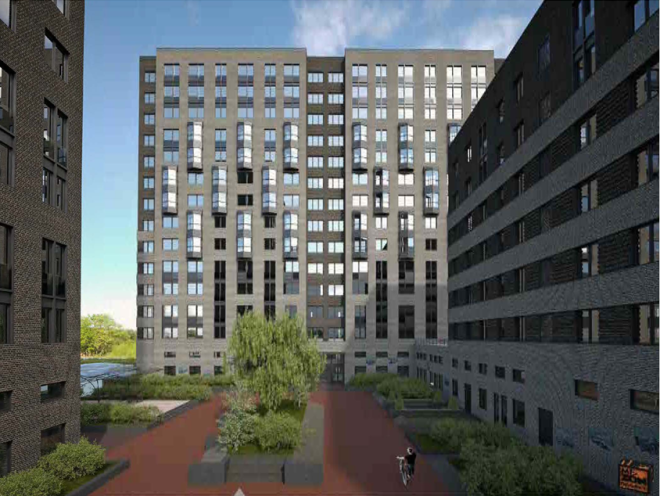Фасады жилой застройки на ЗИЛе будут выполнены из кирпича