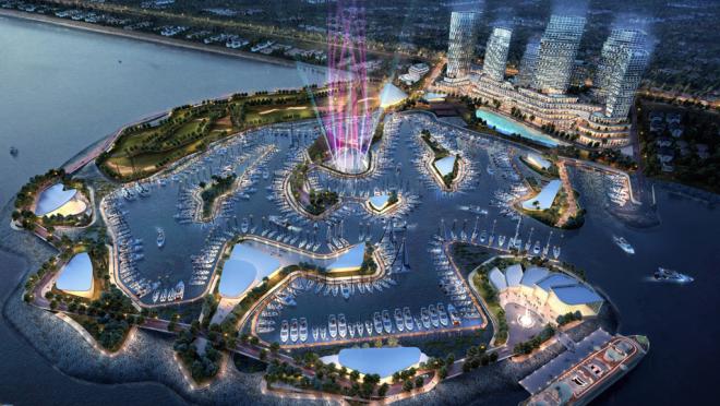 Фирма из США проектирует для Стамбула гавань, образованную цепочкой искусственных островов