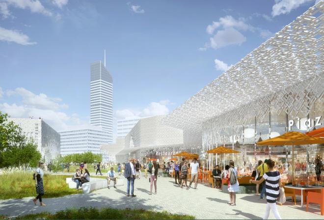 Голландская фирма займется реконструкцией самого большого торгового центра Европы