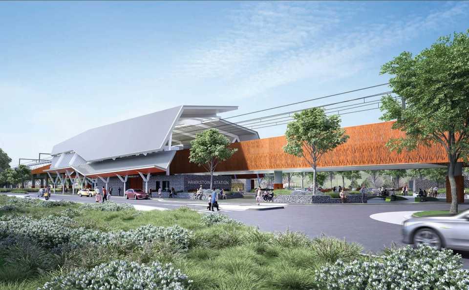 Grimshaw будет проектировать три станции австралийской железной дороги