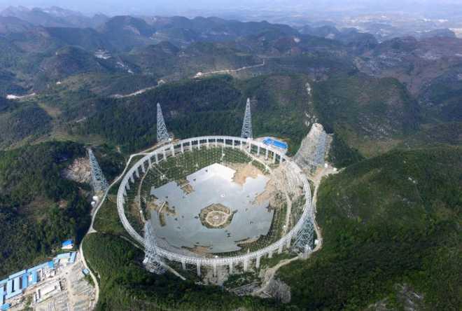 Китай готовится слушать Вселенную: самый мощный в мире радиотелескоп