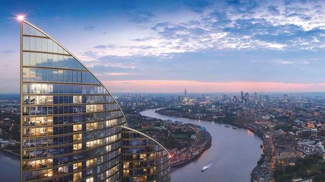 Китайская компания Greenland будет строить в Лондоне «самое высокое жилое здание» Западной Европы