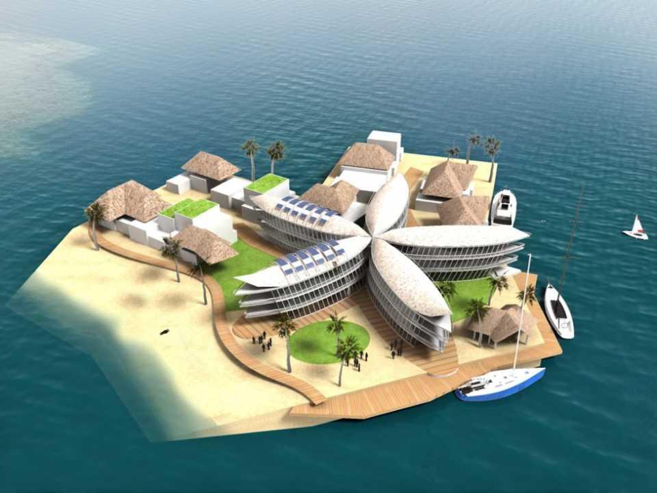 Компания из Сан-Франциско планирует построить плавающий город во Французской Полинезии
