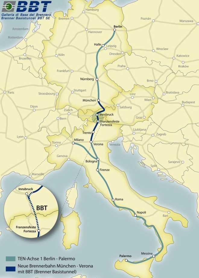 Консорциум, возглавляемый Astaldi, получил контракт на $1,1 млрд и будет строить тоннель в Италии