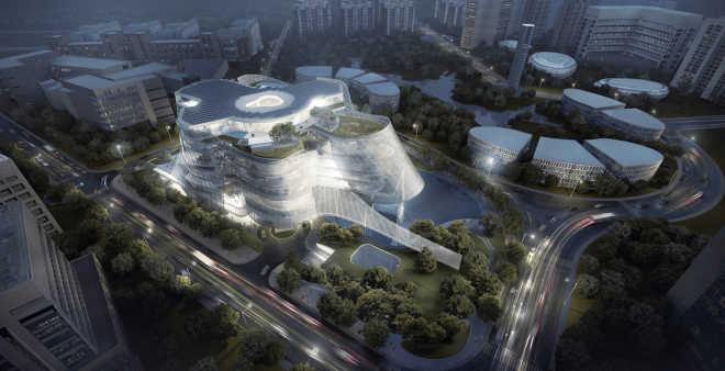 «Кожа да кости»: в Китае начинается строительство уникального центра моды
