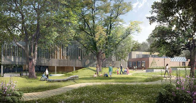 Лондонские архитекторы будут строить детский центр