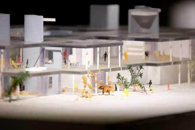 Музей архитектурных моделей открывается я Японии