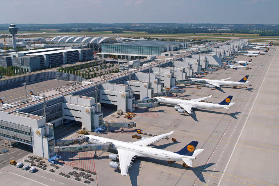 Мюнхенский аэропорт объявил о расширении терминала за €400 млн