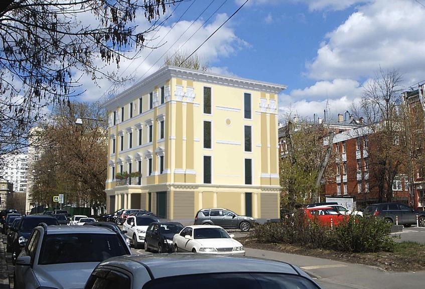 На Цветном бульваре построят гостиницу в итальянском стиле
