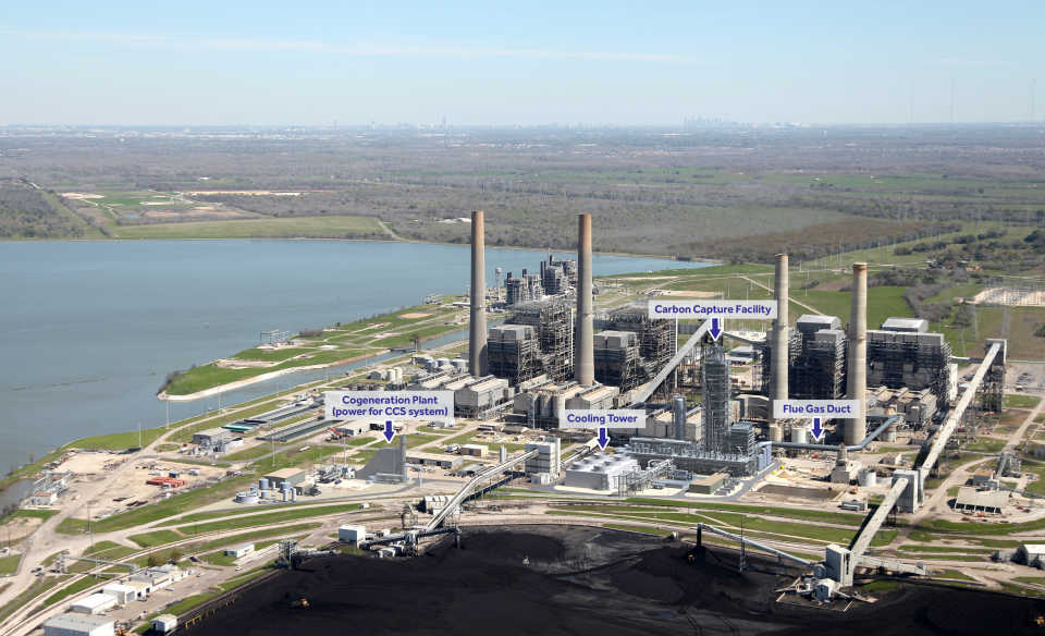 На электростанции в Техасе скоро начнет работать революционная установка для улавливания углерода стоимостью $1 млрд