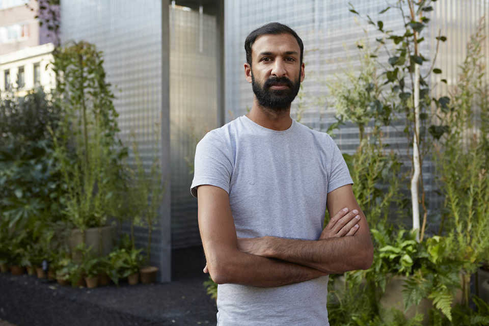 "At the London Design Festival Asif Khan explores the possibilities of ""third places"" using the MINI residential forests"