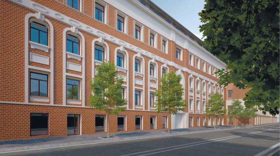 На территории бывшей фабрики «РОТ ФРОНТ» в Замоскворечье построят жилой комплекс