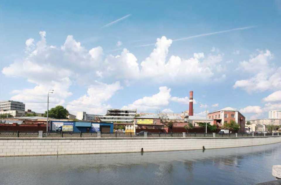 На территории бывшей ткацкой фабрики в Басманном районе появится жилой комплекс