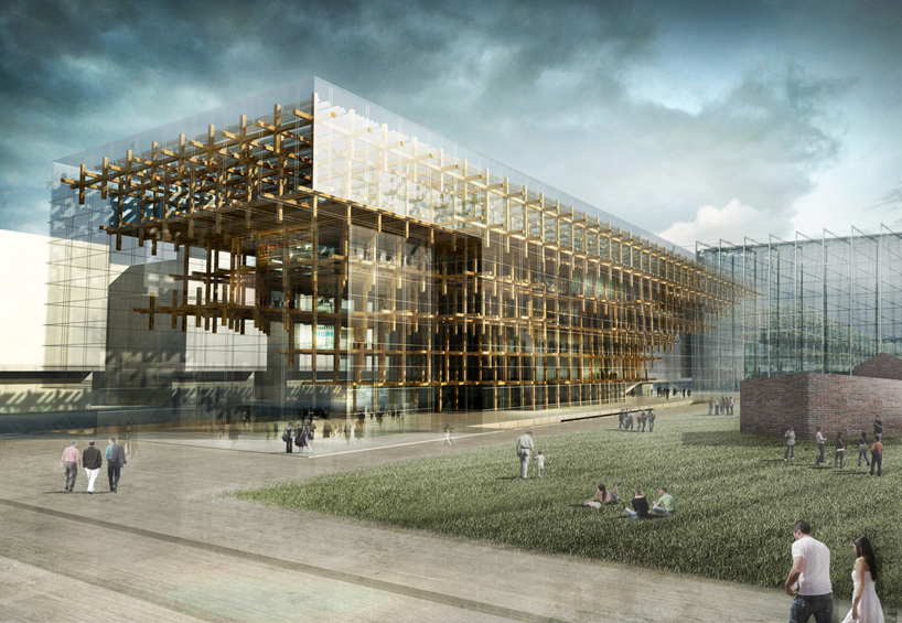Начинается строительство Хельсинкской центральной библиотеки