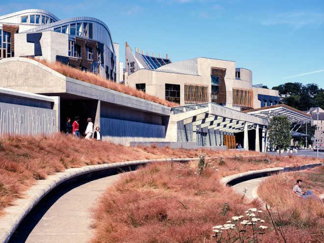 2004 - Шотландский парламент, Эдинбург / Enric Miralles