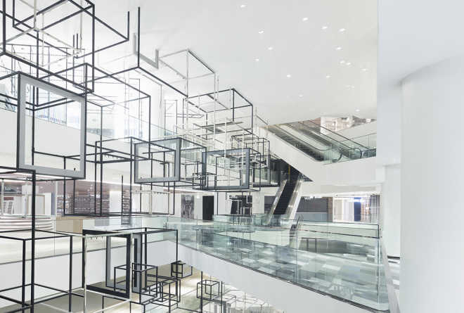 Nendo has transformed shopping space in Bangkok into a Lifestyle Lab