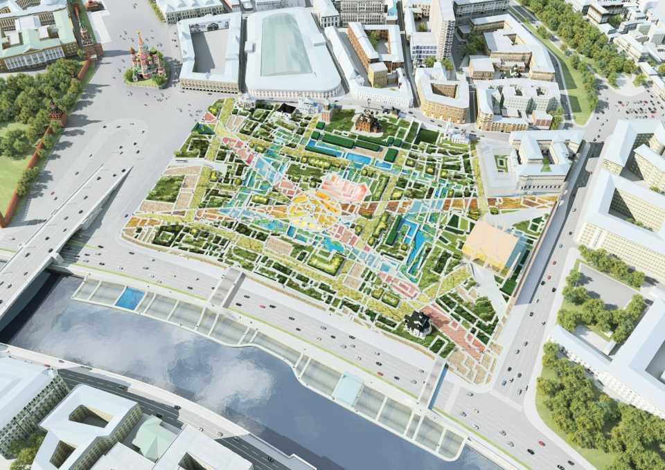 Объявлен международный конкурс на разработку концепции общественных пространств в Новой Москве