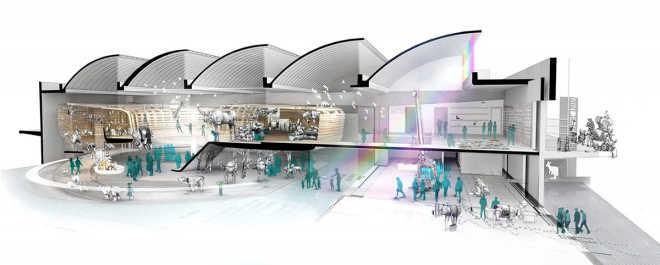 Olson Kundig создали для Еврейского музея в Берлине проект детского музея на основе истории о Ноевом ковчеге