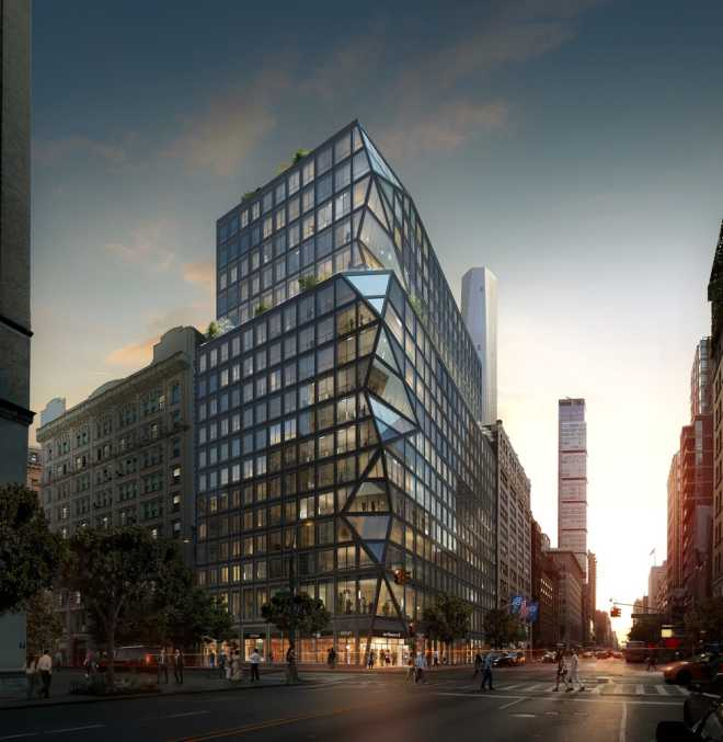OMA introduced its first residential high-rise for New York