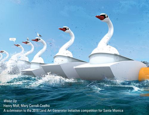 Опреснительная «труба» и огромный воздушный шар предложены для «Пирса Санта-Моники»