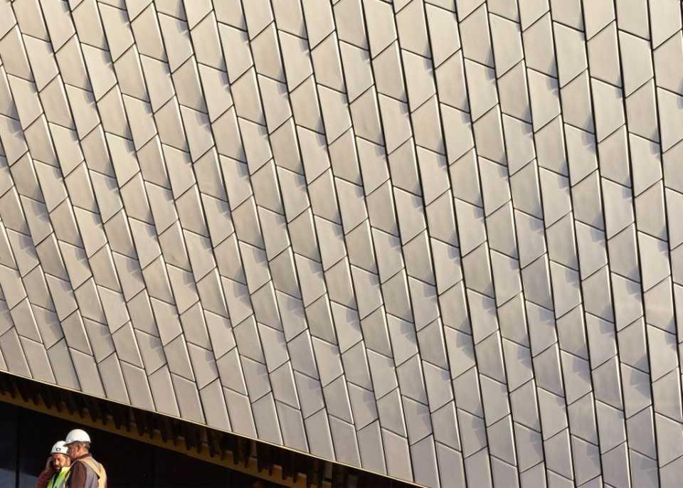 Опубликованы первые фотографии Музея искусств, архитектуры и технологий по проекту Аманды Ливит