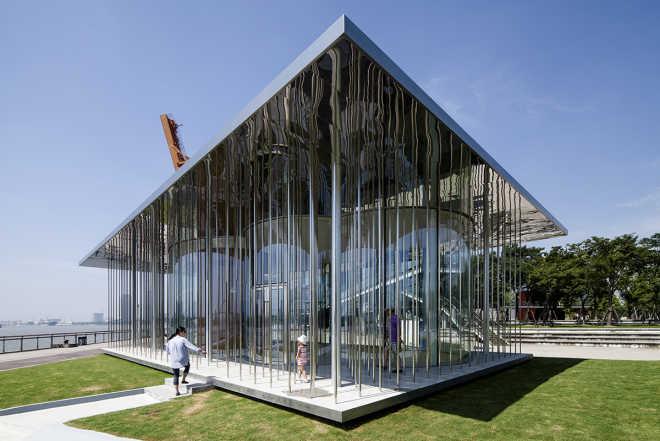 Павильон-облако по проекту Schmidt Hammer Lassen Architects готов принять посетителей в Шанхае