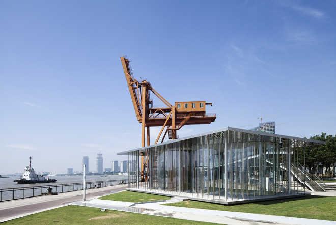 Павильон-облако по проекту Schmidt Hammer Lassen Architects
