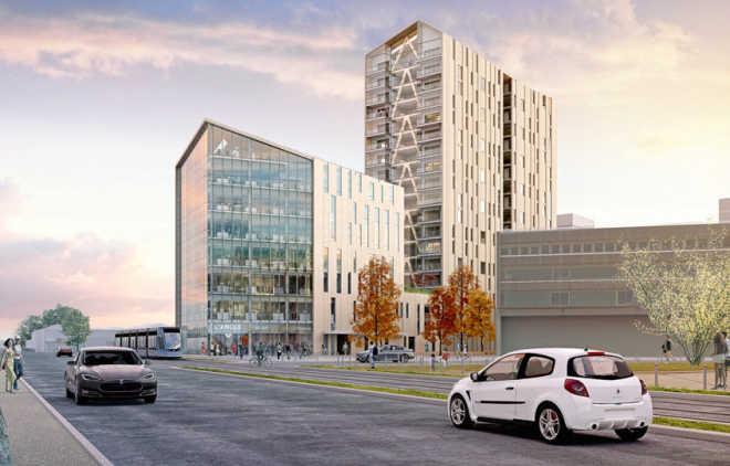 Первые деревянные башни во Франции будут построены в Бордо