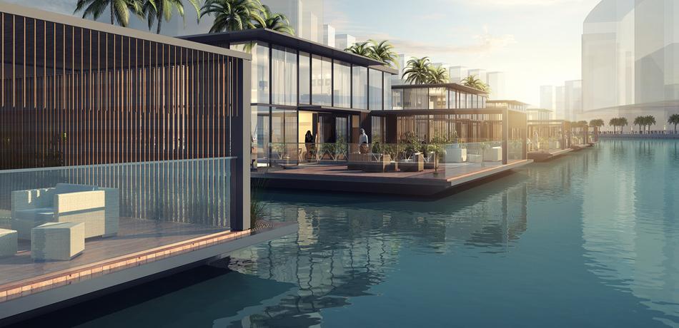 Первые плавучие дома Дубая будут произведены в Финляндии и доставлены оттуда по морю