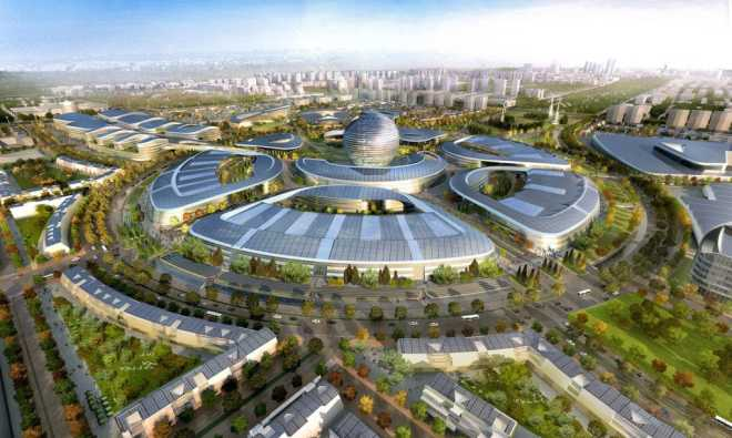 """Construction of the """"Energy of the Future"""" campus for Expo 2017 in Kazakhstan continues"""