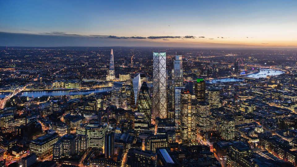 Проект 73-этажного небоскреба, предложенный Eric Parry Architects, одобрен муниципалитетом Лондона