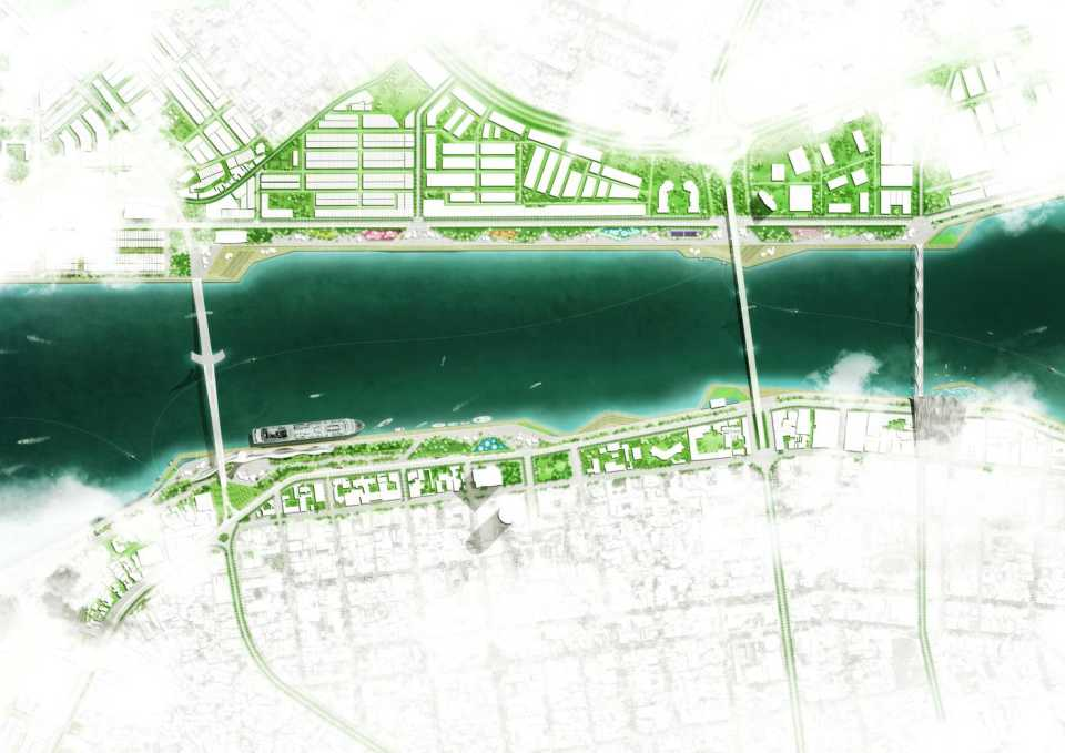 Проект OMGEVING признан лучшим в конкурсе дизайн-концепций благоустройства берегов реки во Вьетнаме
