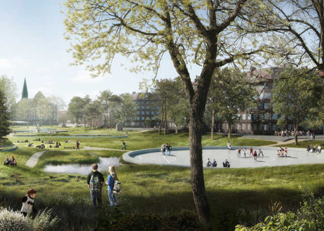 Ramboll will develop an exemplary drainage system for Copenhagen