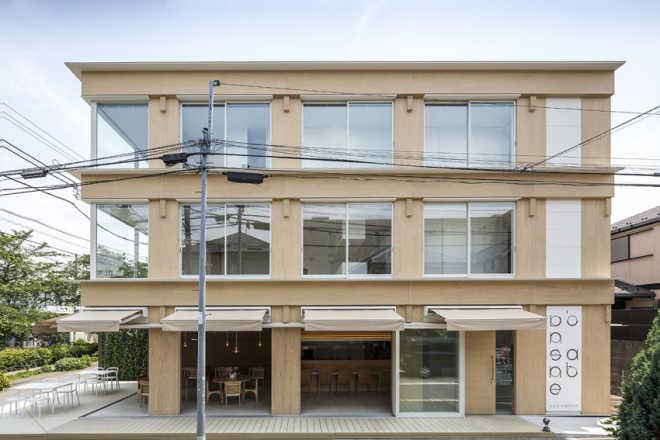Ресторан Vin Sante и жилой дом N совмещены в одном проекте в Токио
