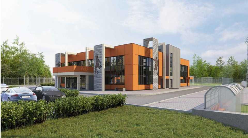 Рядом с лесопарком в Кузьминках появится спорткомплекс с футбольным полем