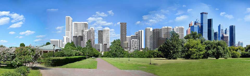 Рядом с Москвой-Сити построят новый комплекс жилых небоскребов