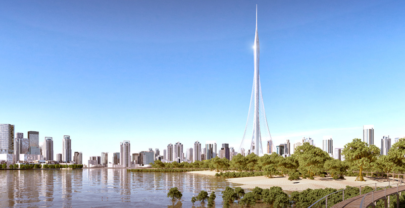 Самая высокая башня мира начинает свое четырехлетнее «восхождение»