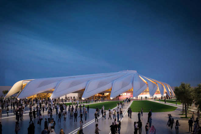 Santiago Calatrava designs UAE Pavilion for Dubai World Expo 2020