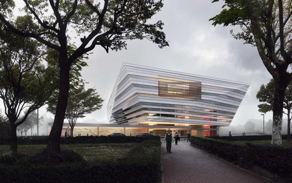 Schmidt Hammer Lassen будет разрабатывать дизайн «святилища знаний» в Шанхае