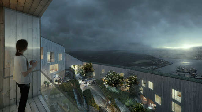 Шведская фирма проектирует экологическое поселение на Фарерских островах