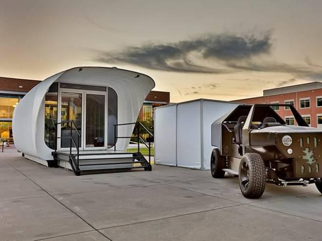 Skidmore строит высокотехнологичный дом с помощью 3D-печати