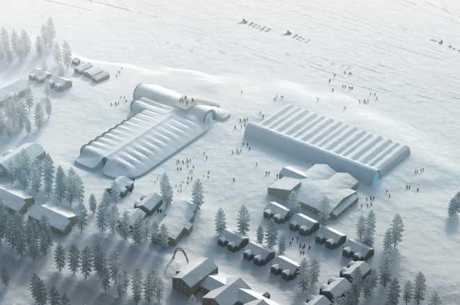Солнечная энергия вдохнет новую жизнь в ледяной отель